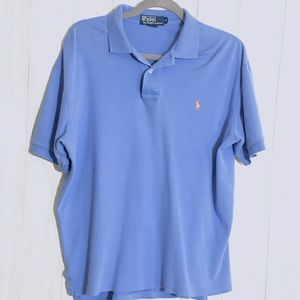 Polo Ralph Lauren Light Blue Short Sleeve Polo